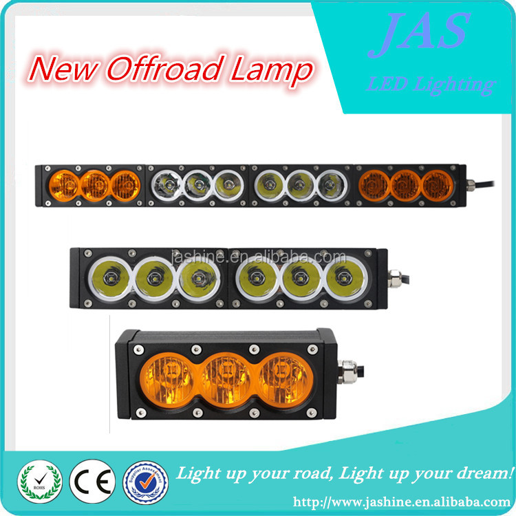 Top Quality off road led light bar multi-Colors White Yellow Alternately 120W 4*4 LED Light Bar offroad lamp