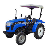 henan F8+R2 gearbox qln250 farm implements available 2wd lawn tractor mini front end loader