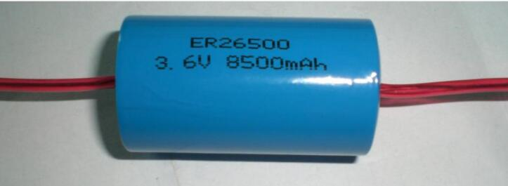 LiSOCL2 High temperature type ER26500S 3.6V 4100mAh Cylindrical Primary lithium Cell for Camera Led light