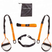 Wellshow Sport BodyWeight Resistance trainer Hot Sale New Fitness Product Home Gym TRXI Suspension Sling Trainer