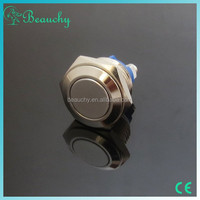 2015 beauchy new product 16mm push button switch, push button, push button micro switch