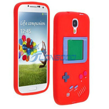 3D Cover Rubber Game Player Silicone Case For Samsung S4 i9500