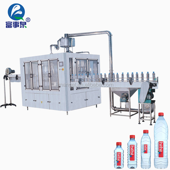 High Quality Factory complete automatic mineral water bottle processing plant