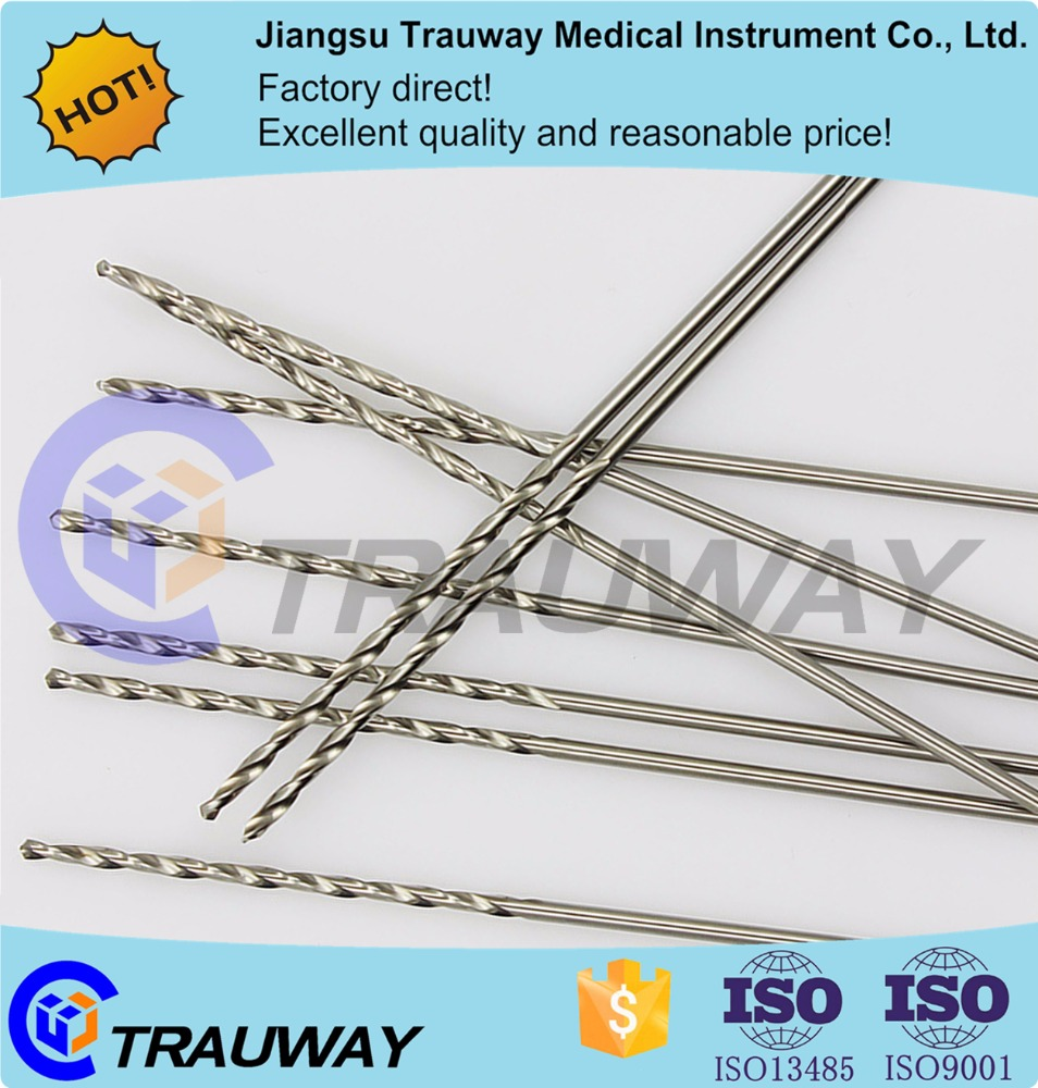 Medical stainless steel orthopedic bone drill bit,orthopedic surgical instruments