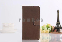 PU Leather Cell Phone Cases Cover Wallet Bag Card Holder for Samsung Galaxy mini 2 S6500 Trend i699 Premier i9260