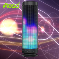 AOSD shenzhen factory Car controlable colorful LED light blutooth speaker AOSD-BS1001