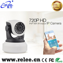 2017 indoor CCTV camera wireless wifi 720P plug and play ip camera onvif with 2-way audio
