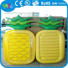 Sample make and custom-make inflatable pineapple water toy, inflatable pineapple float, pineapple inflatable float
