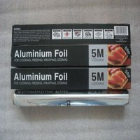 Hot Selling food packaging aluminum foil wrapping paper roll