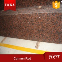 Carmen Red Granite Gang Saw Slabs