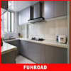High end plywood baking paint gloss kitchen cabinets for sale