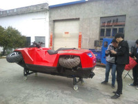 Chinese Hot Sale 800cc 4x4wd amphibious watercraft