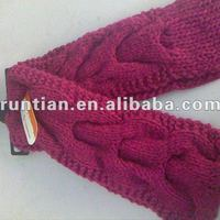 Fashion Lady S Full Cable Knitting