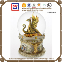 Souvenir Resin dragon Snow ball