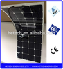 semi-flexible sunpower thin film pv panel from China Suppliers list 120W flexable solar panel