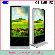 HD Resolution 42 Inch Touch Screen Kiosk Totem LCD Display with USB