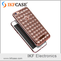 Business style, china suppier , Diamond bling phone case ,protective from dirt backk cover for iphone 5SE