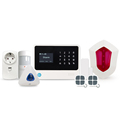 Smart Home Burglar Alarm System Wireless Wifi GSM Home Security Alarm System With APP fast control