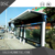 2017 new style modern modular stainless steel bus station light box