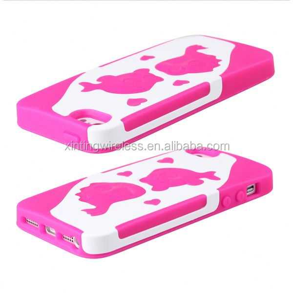 fashion cell phone case tpu pc case for iphone 5 jelly color cover case for iphone 5