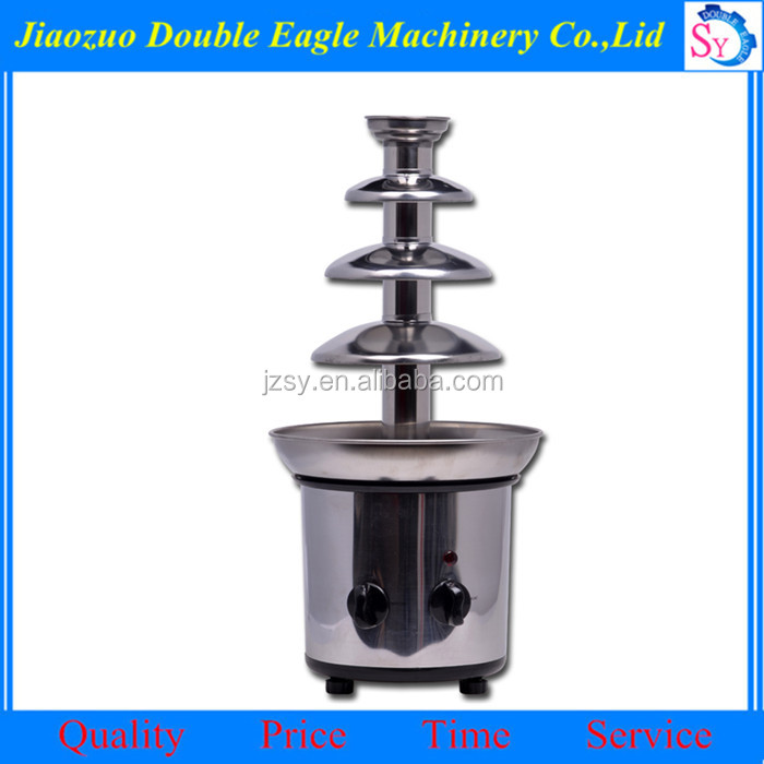 Best selling Multifunction chocolate dragee machine/commercial 4 Layers Chocolate Fountain Melting Machine