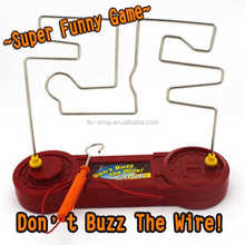 Hot-selling Funny Table Game Electric Buzz Wire Toy, Electric Hearbeat Shocking Maze Toy For Wholesale
