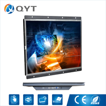 Kiosk waterproof touch screen monitor ip67 Advertising lcd network 4k computer monitor with 1280x1024 resolution