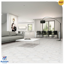 hot sale bianco carrara mixed white and grey octagonal kitchen floor hexagonal mosaic tiles from foshan
