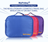 China Manufacturer Carry on transparent cosmetic travel toiletry bag