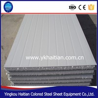 environmental lightweight building insulation EPS sandwich Roof panels/wall sandwich panel