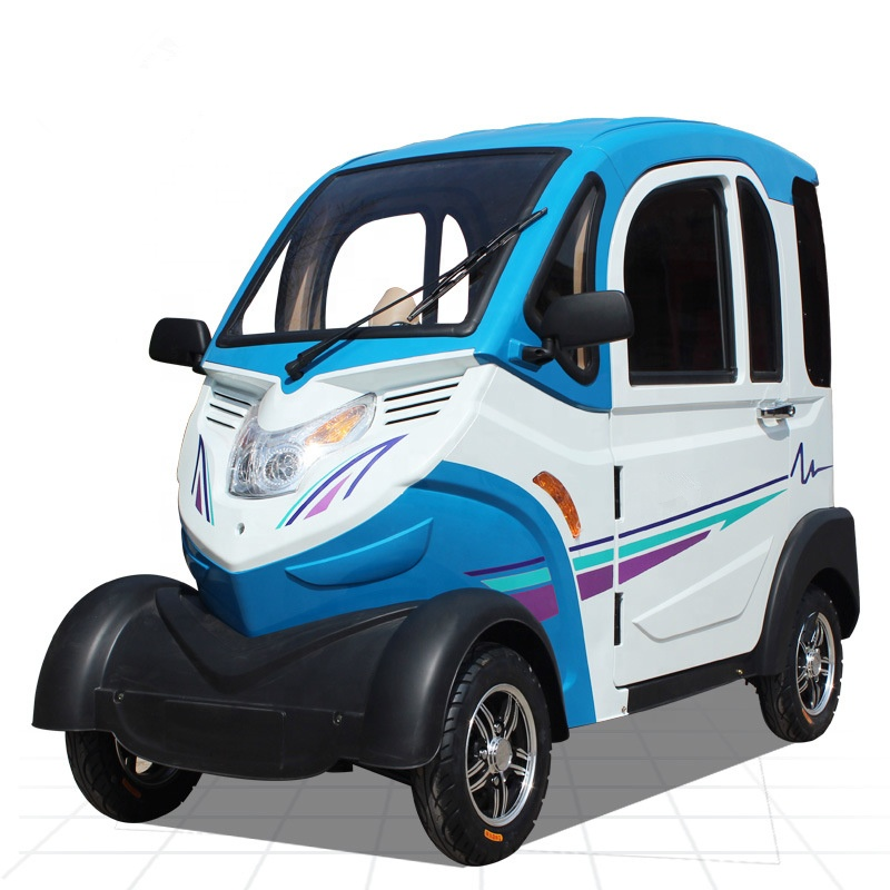 New 2019 hot sale 3 Seat Full Closed Four Round Electric <strong>Car</strong>