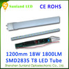 Competitive Price 1200mm T8 CE ROHS passed 18w led tube light