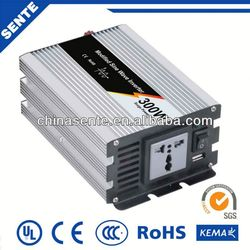Top quality 300w modified sine wave wind generator inverter 12v 220v 50Hz/60Hz with different types of sockets