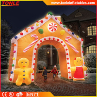new Christmas inflatable Holiday themes Decoration, inflatable Lighting Christmas Decorative Archway for sale