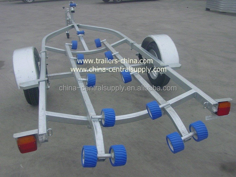 Hydralic lifting 4.8m Jet ski trailer with roller system CT0065D