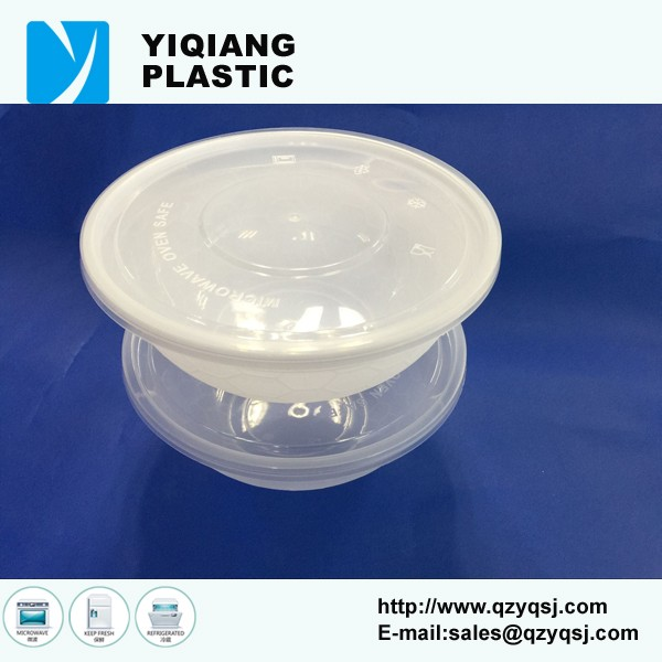 Microwave Safe Plastic Hot Food Storage To Go Container bowl With