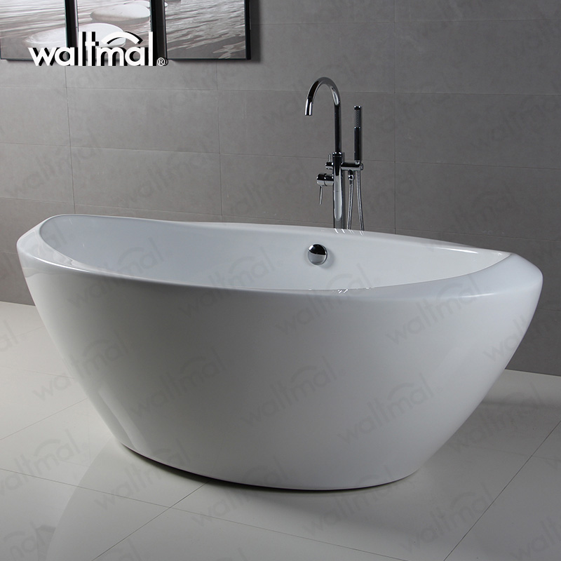 Popular used In Home Contemporary Egg Shaped Plastic Family Bathtub