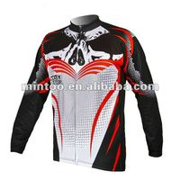 Specialized cycing long sleeve jersey for mens