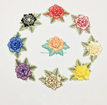 NF0075 Hot Sale Fine Fashion Clothing DIY Accessories Water - soluble Embroidery Multi - layer Flowers Cloth Accessories Hand E