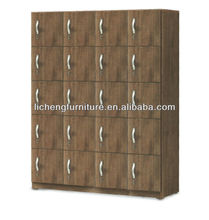 Melamibe faced chipboard storage locker cabinet