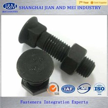 alloy steel and stainless black a193 b7 a194 2h stud bolts and nuts