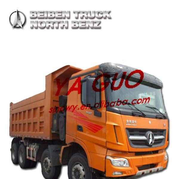 NORTH BENZ V3 380HP 12 WHEEL 8X4 EURO3 EGR BEIBEN DUMP TRUCK (ND33100D39J7 3138KY)