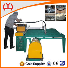 cnc pipe plasma /flame cutting machine ,tube metal cutters for circle cutting