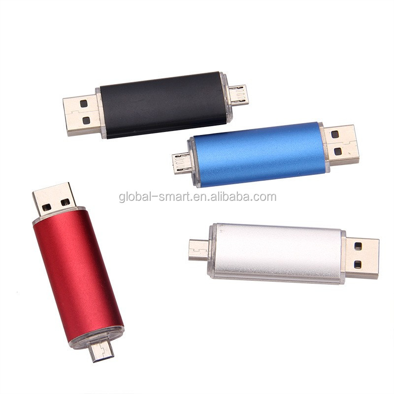 New double interface usb flash drive 32gb pendrive 16gb Smart Phone pen