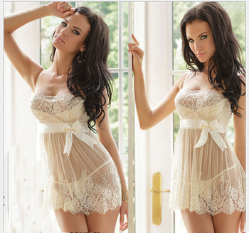 new design white sexy lingeries hot sexy transparent nighties for women