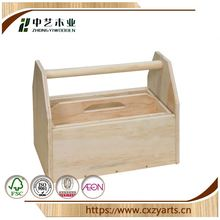 antique new unfinished customized cheap china factory kids toy custom wooden tool box