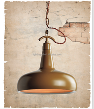 E27 vintage industrial style metal hanging light for kitchen ,restaurant