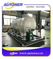 Ammonia batch controller for Chemical acetate with self loading concrete mixer