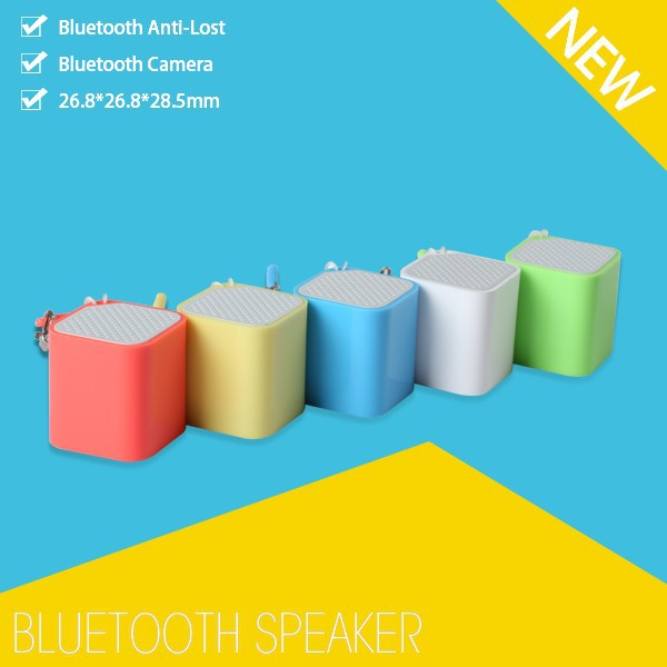 New product guangdong small speakers bluetooth with selfie function