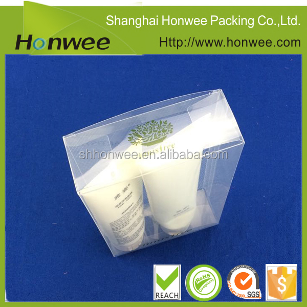 packaging box pp cosmetic case customized promotional box